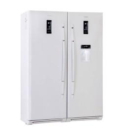 یخچال و فریزر دوقلو 17 فوت بتا سفید هیمالیا